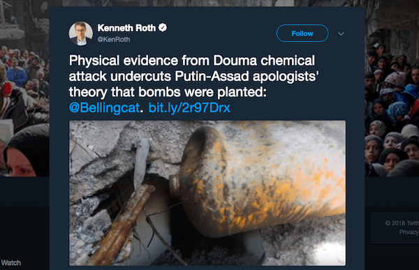 War Propaganda Firm Bellingcat Continues Lying About Syria
