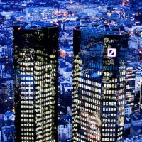 The towers of the Deutsche Bank in Frankfurt, Germany. Michael Probst | AP