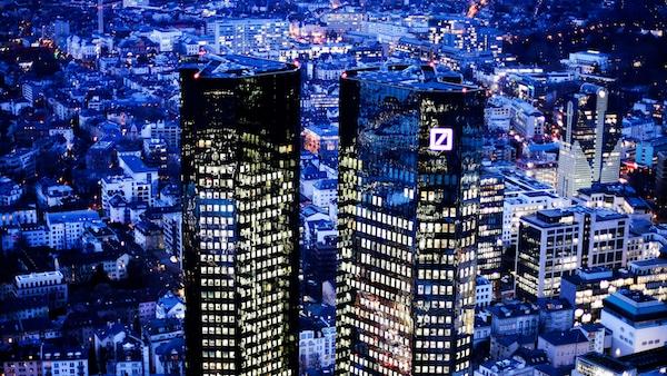 The towers of the Deutsche Bank in Frankfurt, Germany. Michael Probst | AP