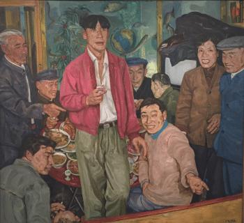 Liu Xiaodong (China), Wedding Party, 1992.
