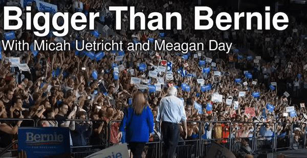 | Bigger than Bernie How We Go from the Sanders Campaign to Democratic Socialism by Meagan Day and Micah Uetricht Verso | MR Online