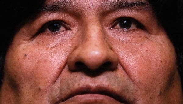 | This is the first time in 23 years that Evo Morales is disqualified from an electoral campaign ever since he first entered the Legislature in 1997 | Photo EFE Juan Ignacio Roncoroni | MR Online