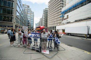 Pro-Israel anti-Corbyn protest