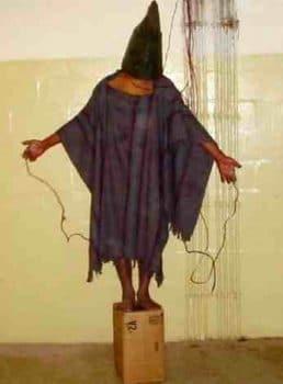 U.S. soldier photo from Abu Ghraib 2