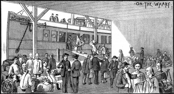 | The AntiChinese riots in Seattle On the Wharf Origin From the March 1886 edition of West Shore pdf page 14 Photo Washington State Library | MR Online