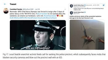 | A tweet calling for the Seattle police chief to be sacked | MR Online