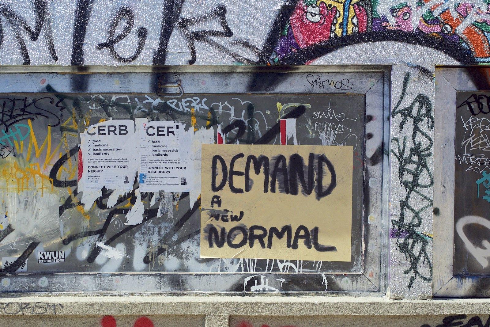 | Demand A New Normal | MR Online
