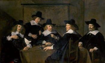 "Frans Hals' (1582–1666) ""The Regents of Saint Elizabeth's Hospital"" (1641)"