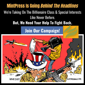 MintPress News 'Behind the headlines'