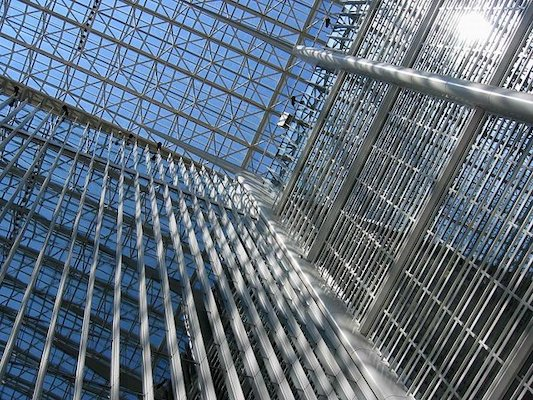 The World Bank HQ Main Complex Atrium (wikimedia)