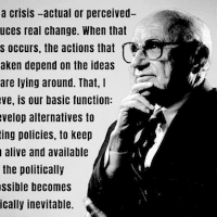 Milton Friedman - Performative economics