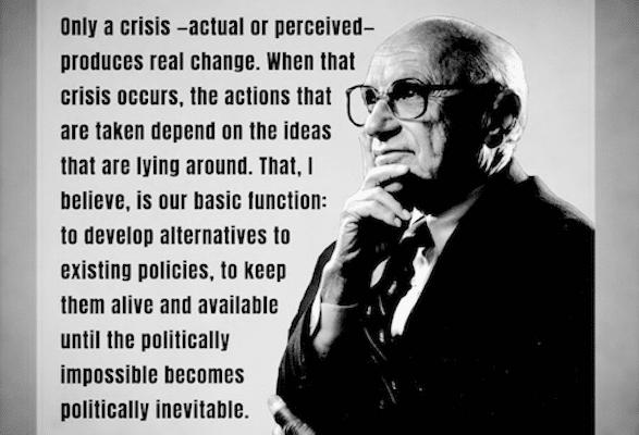 | Milton Friedman Performative economics | MR Online