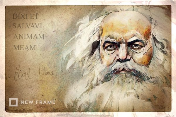 Marx (Illustrator: Anastasya Eliseeva)