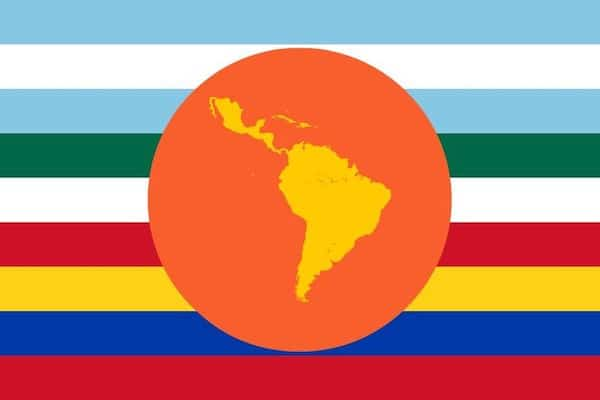 False flag of Latin America (Illustration: Wikimedia Common)