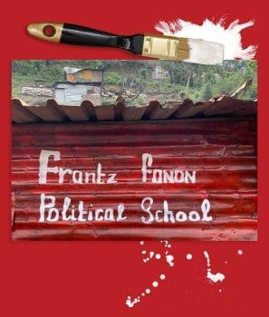 Richard Pithouse, The Frantz Fanon Political School at the eKhenana Land Occupation of Abahlali baseMjondolo, Cato Manor, Durban, South Africa, 2020.