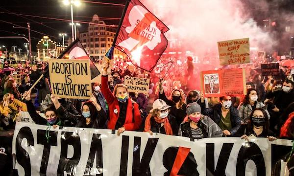 'This is war': fighting for abortion rights in Poland