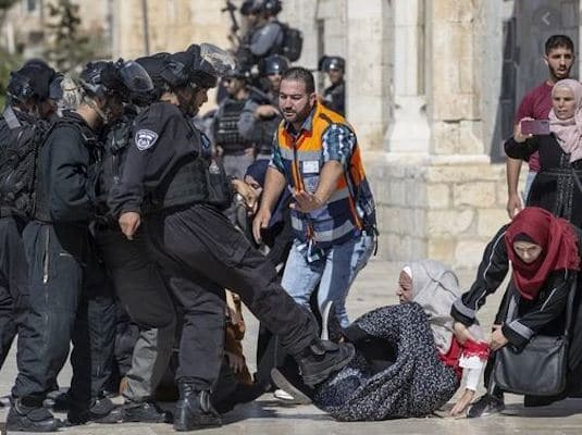 The strategic goal of Israeli racism in Palestine