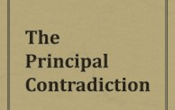 The Principle Contradiction