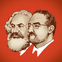 Marx and Schlissel(Illustration by Maggie Wiebe)