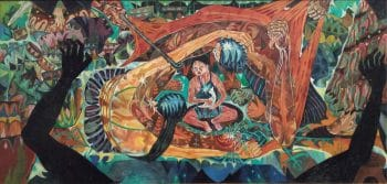 Amrus Natalsya, Mereka Yang Terusir Dari Tanahnya ('Those Chased Away from Their Land'), 1960.