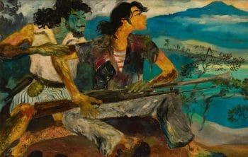Hendra Gunawan, War and Peace, 1950.