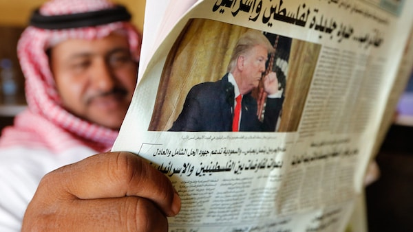 Trump is Showering Saudi Arabia with Last-Minute Gifts
