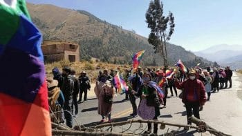| Bolivians blockaded over 140 major highways and roads across the country to demand that the coupinstalled government reverse its decision to delay the general elections in the country Photo Kawsachun News | MR Online