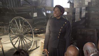 | Harriet Tubmans Aisha Hinds Abolitionist Plea in Underground | MR Online