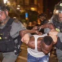 Israel Police Brutality Protest Turns Violent Against Ethiopians 5-4-2015 TheLipTV