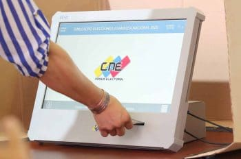The new EC-21 voting machine will be used. (CNE)