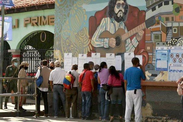 | Voting in Venezuelas elections Photo PSUV Facebook page | MR Online