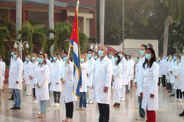 Cuba sends medical brigade to Mexico to fight Covid-19