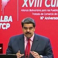 President Nicolas Maduro participates at the ALBA XVIII virtual Summit (Prensa Latina)