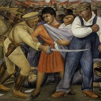 My Wish Is That You Win This Fight for Truth: The Third Newsletter (2021) - Diego Rivera (Mexico), The Uprising, 1931.