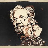 Original illustration for ScheerPost by Mr. Fish