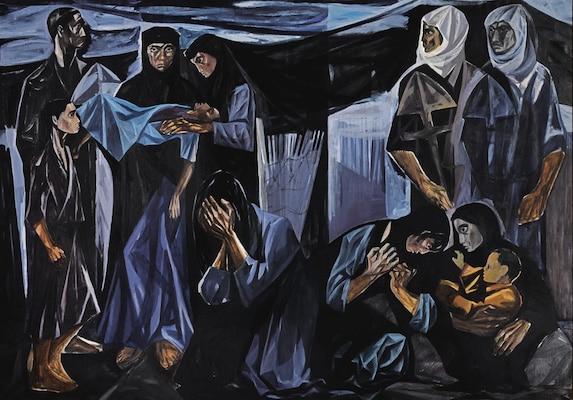 | Mahmoud Sabri Iraq Death of a Child 1963 | MR Online