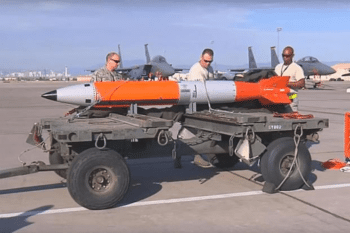 New nuclear gravity bomb. [Source: military.com]