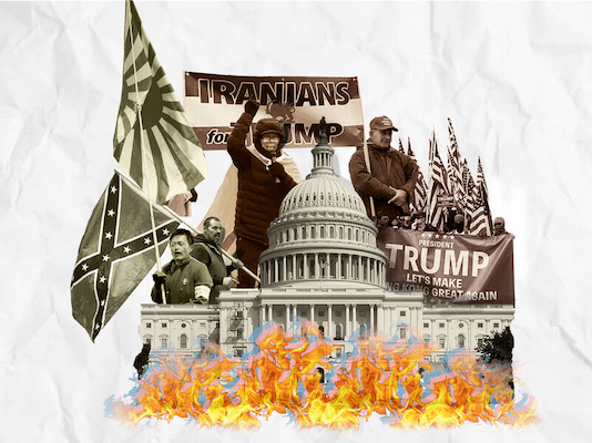 Raising Their Banner High: Fascism, Imperialism, and Anti-Communism at the Capitol Hill Riots