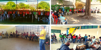 Four assemblies with communes between January 12 and 17. (El Maizal Commune)