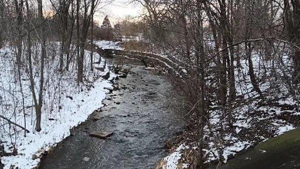 A river in the territory of the Mississauga people, in Ontario, Canada. Photo by Avexnim Cojti.