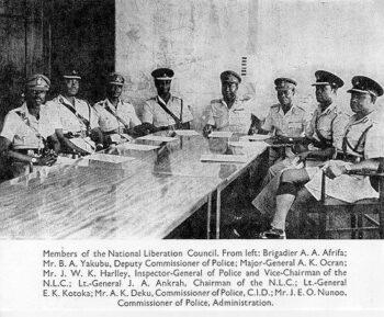 Ghanaian coup plotters. [Source: medium.com]