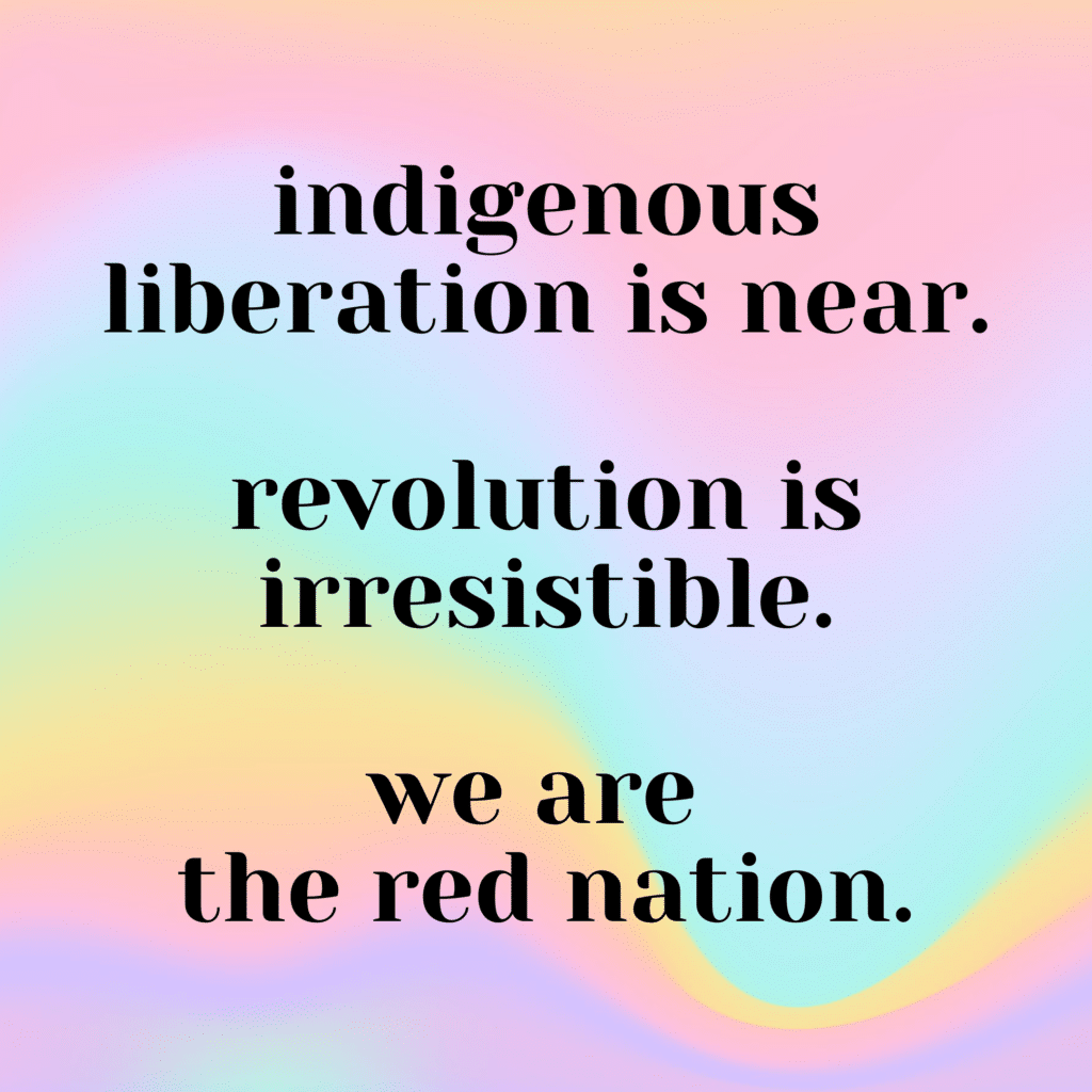 | Indigenous Liberation | MR Online