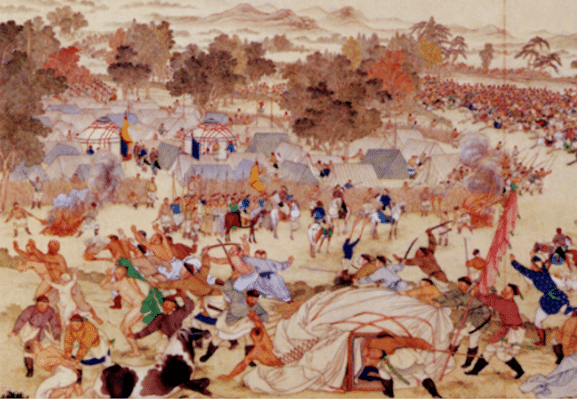 Dzungar genocide(Photo: Wikimedia Commons)