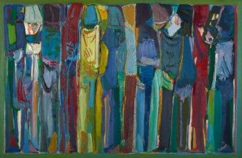 Paul Guiragossian (Lebanon), La Lutte de l'Existence ('The Struggle of Existence'), 1988