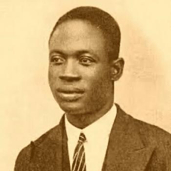 Kwame Nkrumah as a young man. [Source: facebook.com]
