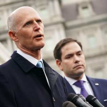 Rick Scott and Marco Rubio are the most active operators in the lobby against Venezuela