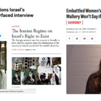 Headlines from Metro (11/29/19), Atlantic (3/9/15) and Daily Beast (1/18/19).