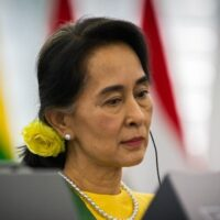 Aung San Suu Kyi. Photo: Claude TRUONG-NGOC / Wikimedia Commons / CC BY-SA 3.0, license linked at bottom of article