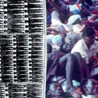 Right image: USCGC Harriet Lane transporting Haitian asylum seekers in 1991. USCG photo.