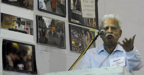   A file photo of activist Varavara Rao   IANS   MR Online